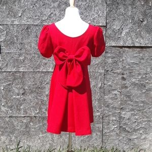Beautiful Custom Made Back Bow Babydoll Dress 2/4